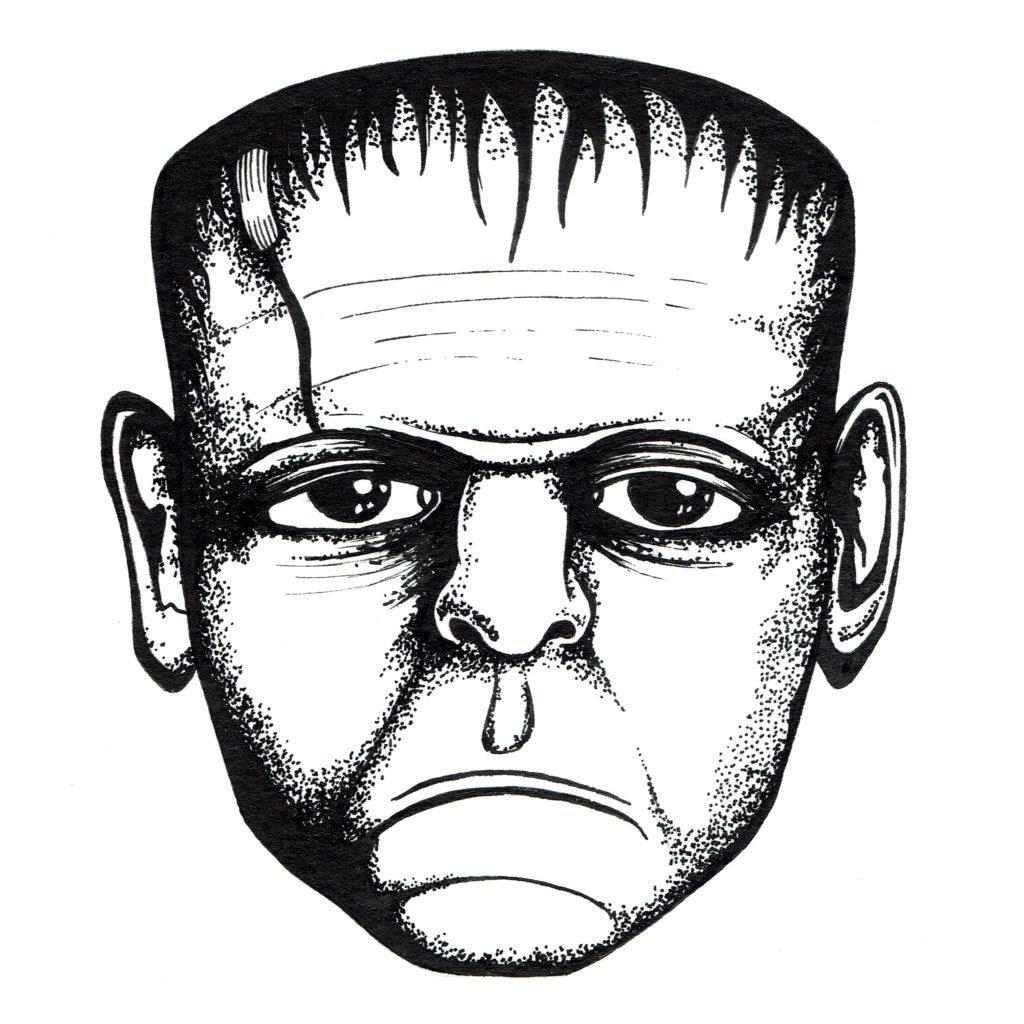 Memory card - Frankenstein