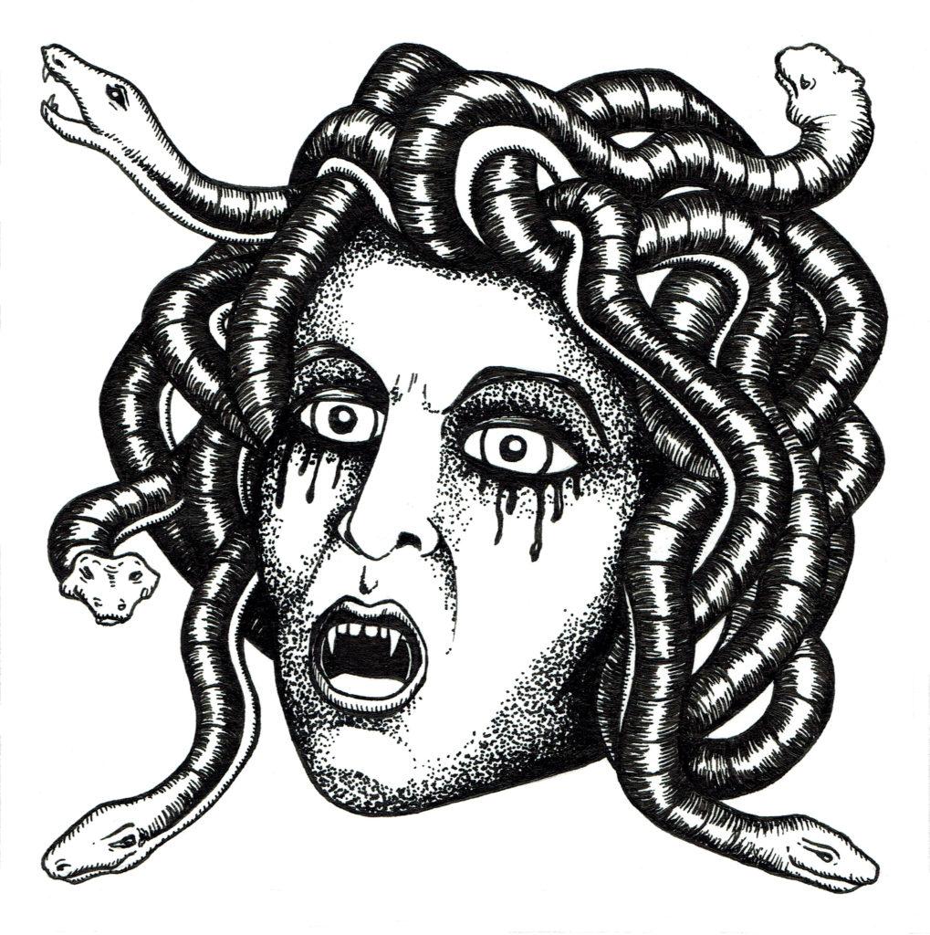 Memory card - Medusa