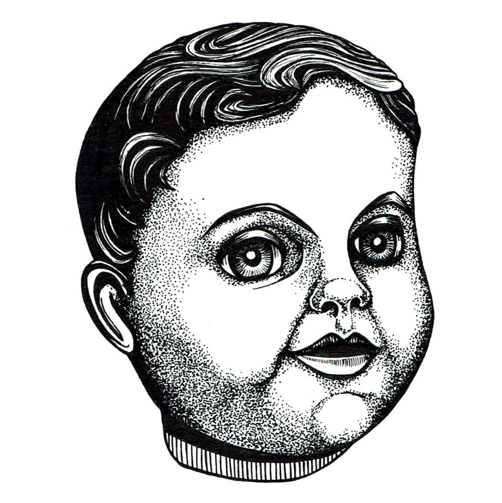 Memory card - Creepy doll