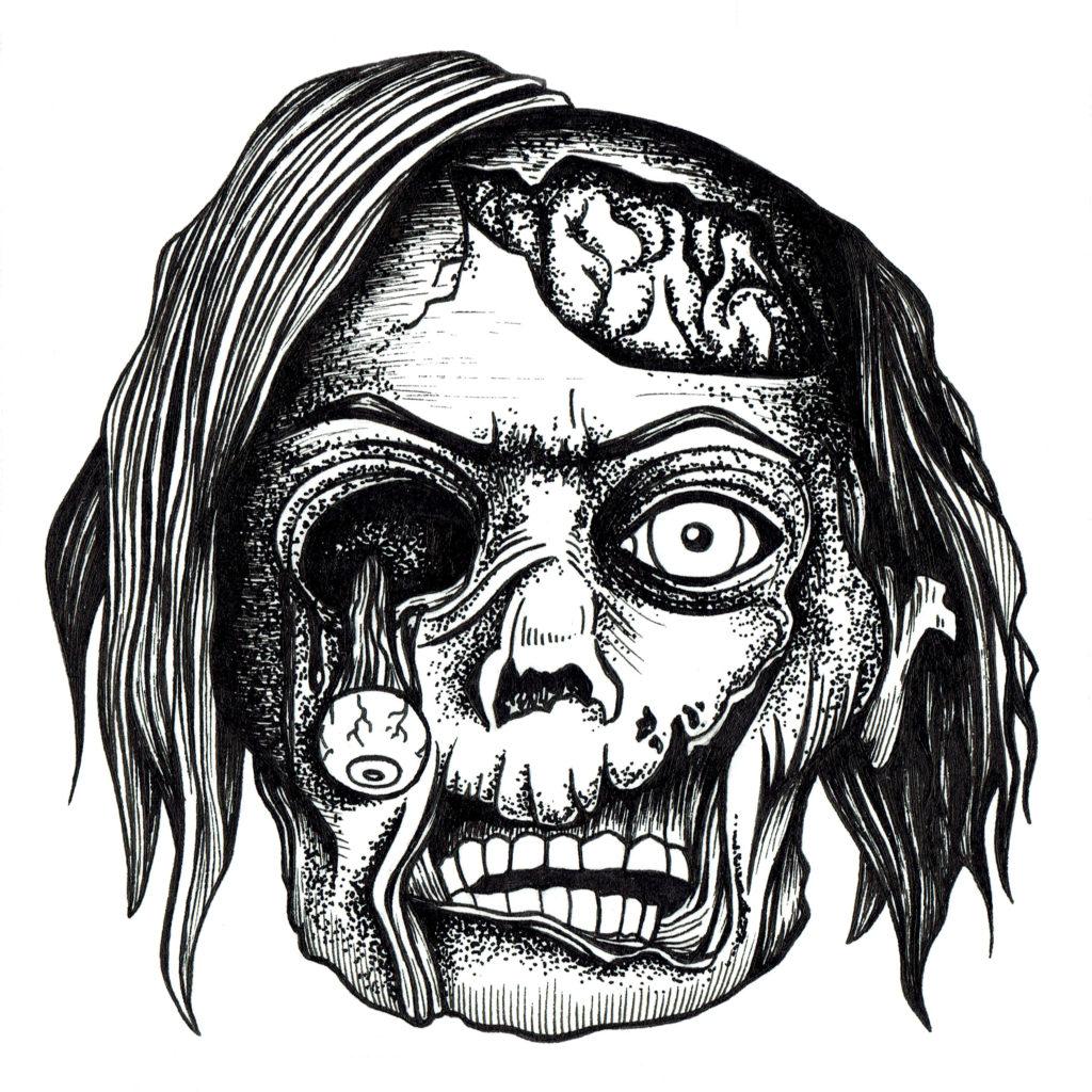 Memory card - Zombie